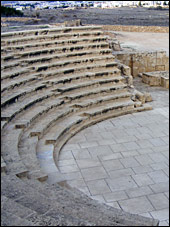 Amphitheater at the Paphos World Heritage Site